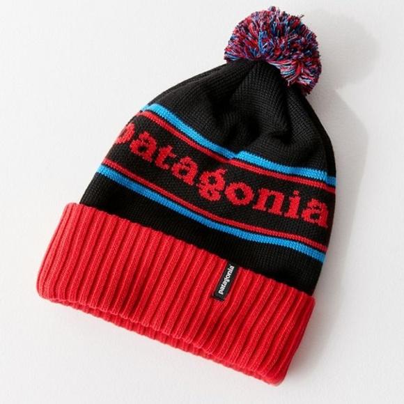 4542fc715f7 Patagonia Powder Town Park Stripe Beanie Hat